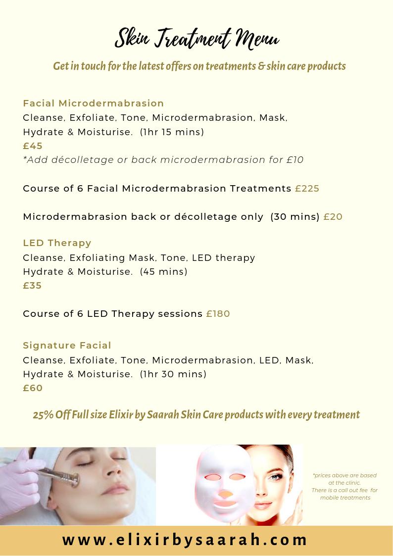 2 Facial Treatments